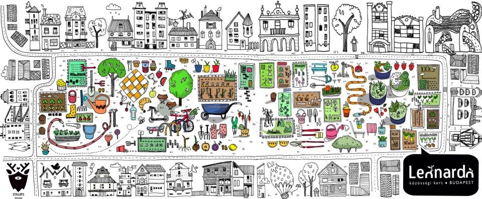 Egy közösségi kert élete képekben 2.