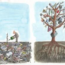 """Földünk. Ahogy mi """"szeretjük"""" – Nemzetközi karikatúra pályázat"""