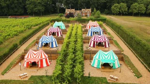 Glamping-Leeds-Castle