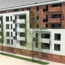 Újabb passzív minősítésű bérház épül a XIII. kerületben
