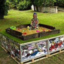 Hulladékszobrokkal a biodiverzitásért