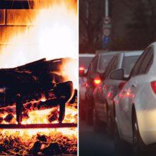 Mi a szennyezőbb: a háztartási tüzelés vagy a közlekedés?
